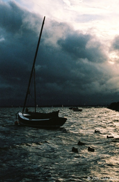 Eclaircie en pleine tempête - Portra 400