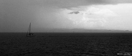 Au milieu de l'océan - tri X