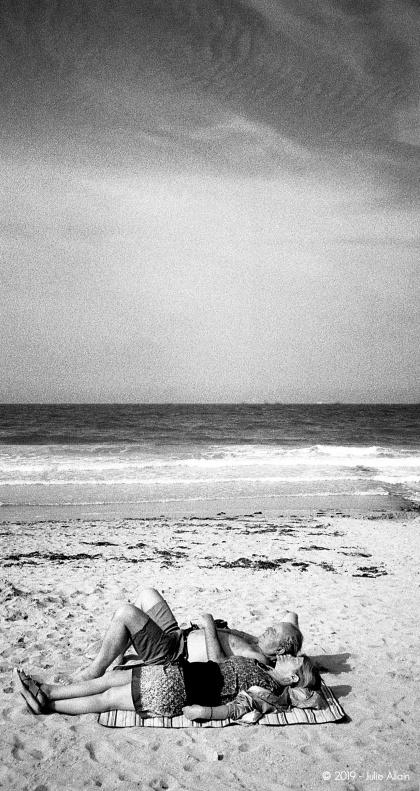 Plage Normande - Portrait 3 - Tri X